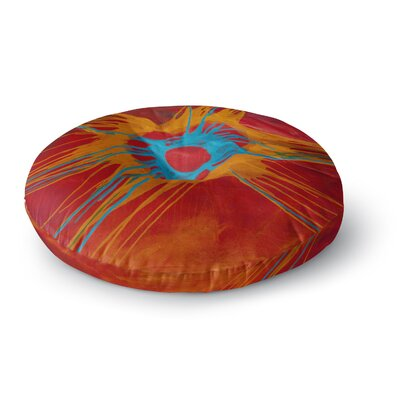 Steven Dix Eclipse Round Floor Pillow Size: 26 x 26
