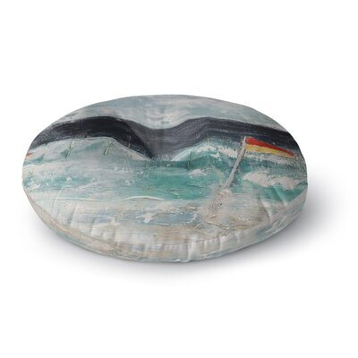 Steven Dix Great Pacific Pty Ltd Round Floor Pillow Size: 26 x 26