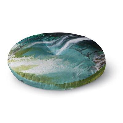 Steven Dix Ocean Majestic Round Floor Pillow Size: 23 x 23