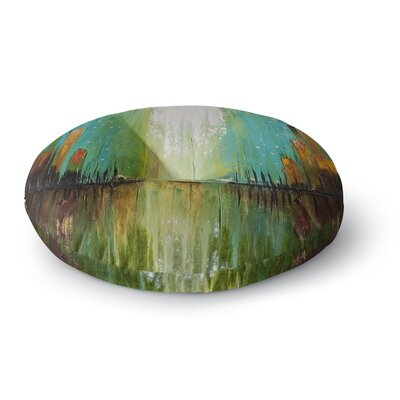 Steven Dix Twilight Imaginings Round Floor Pillow Size: 26 x 26