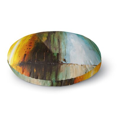 Steven Dix Kinds of Tranquil Painting Round Floor Pillow Size: 23 x 23