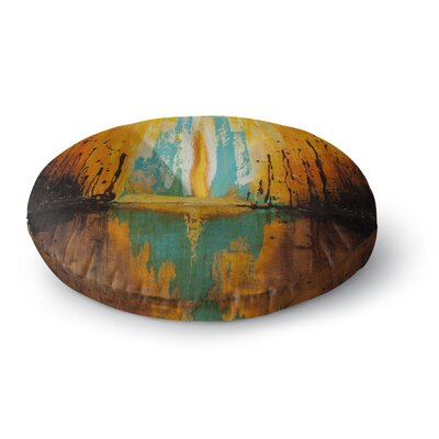 Steven Dix Inception or Birth Round Floor Pillow Size: 26 x 26