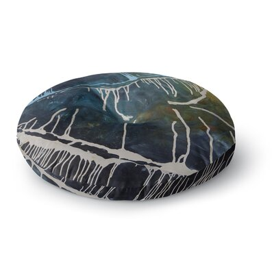 Steve Dix Busan Tonight Painting Round Floor Pillow Size: 26 x 26