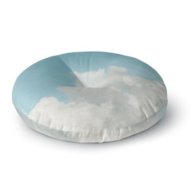 Suzanne Harford Summer Sky 3 Photography Round Floor Pillow Size: 23 x 23