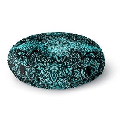 Shirlei Patricia Muniz The Elephant Walk Ethnic Round Floor Pillow Size: 23 x 23