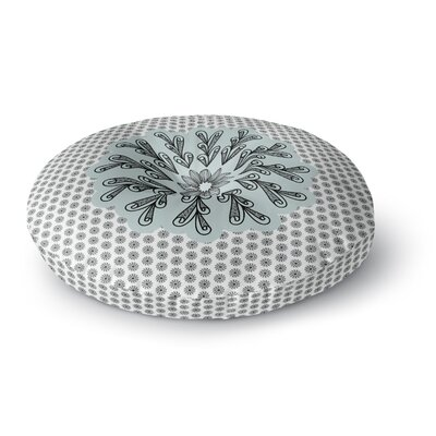 Shirlei Patricia Muniz My Flower Abstract Round Floor Pillow Size: 26 x 26