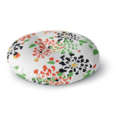 Sonal Nathwani Multi Bouquet Round Floor Pillow Size: 26 x 26
