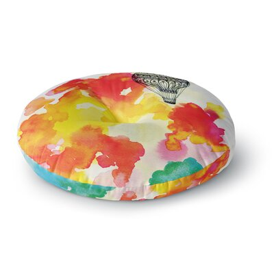 Sonal Nathwani Come Away with Me Round Floor Pillow Size: 26 x 26