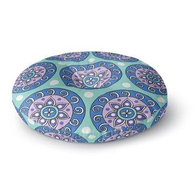 Sarah Oelerich Mandala Dot Round Floor Pillow Size: 26 x 26