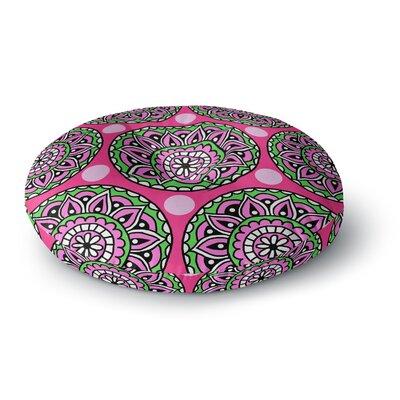 Sarah Oelerich Watermelon Mandala Round Floor Pillow Size: 26 x 26