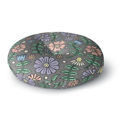 Sarah Oelerich Early Spring Floral Round Floor Pillow Size: 23 x 23