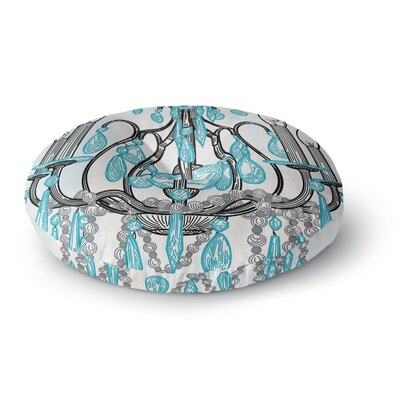 Sam Posnick Chandelier Round Floor Pillow Size: 26 x 26