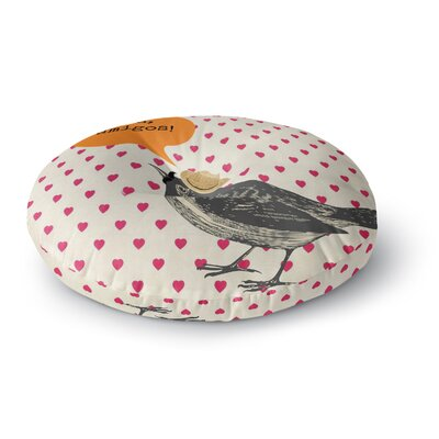 Sreetama Ray Hola Spanish Round Floor Pillow Size: 23 x 23