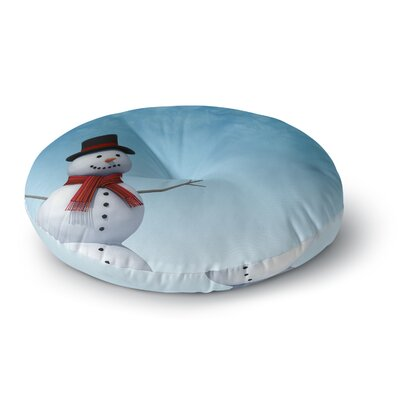 Snap Studio Feelin Frosty Round Floor Pillow Size: 23 x 23
