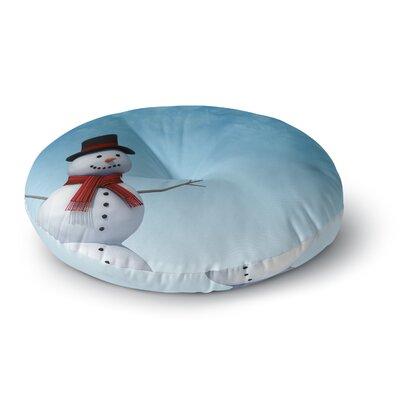 Snap Studio Feelin Frosty Round Floor Pillow Size: 26 x 26