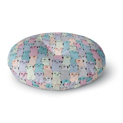 Snap Studio Ferret Wheel Round Floor Pillow Size: 26 x 26