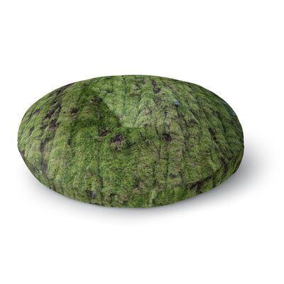 Susan Sanders Emerald Moss Nature Round Floor Pillow Size: 26 x 26