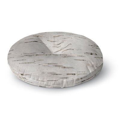 Susan Sanders Painted Tree Rustic Round Floor Pillow Size: 26 x 26