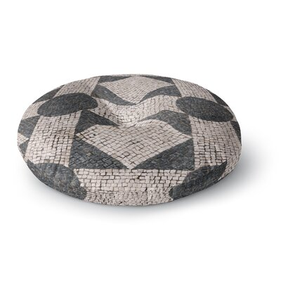 Susan Sanders Mosaic Round Floor Pillow Size: 26 x 26