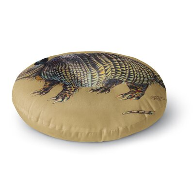 Sophy Tuttle Aramadilio Alebrija Round Floor Pillow Size: 23 x 23