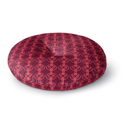 Suzie Tremel Rick Rack Round Floor Pillow Size: 26 x 26