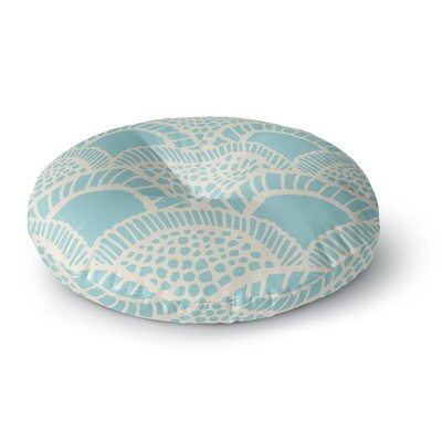 Suzie Tremel Heathered Scales Round Floor Pillow Size: 26 x 26