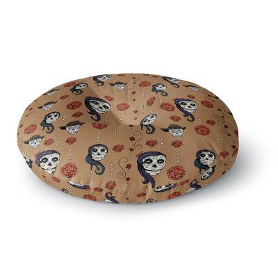 Stephanie Vaeth Calaveras Round Floor Pillow Size: 26 x 26