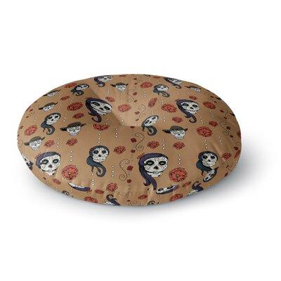Stephanie Vaeth Calaveras Round Floor Pillow Size: 23 x 23