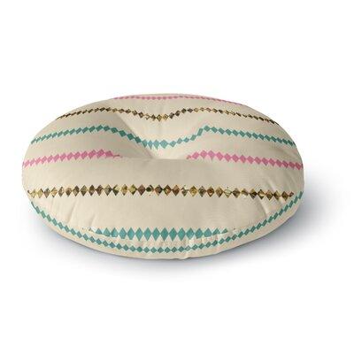 Skye Zambrana Diamonds Round Floor Pillow Size: 26 x 26