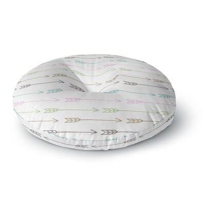 Skye Zambrana William Tell Round Floor Pillow Size: 26 x 26