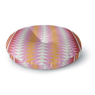 Skye Zambrana Bomb Pop Round Floor Pillow Size: 26 x 26