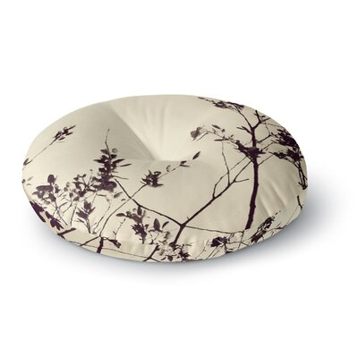 Skye Zambrana Silhouette Round Floor Pillow Size: 26 x 26