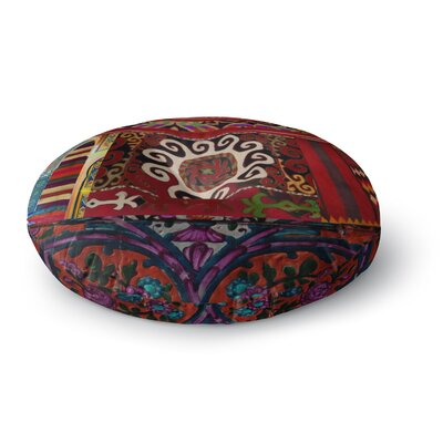 S Seema Z Burst of diverse Ethnic Round Floor Pillow Size: 26 x 26