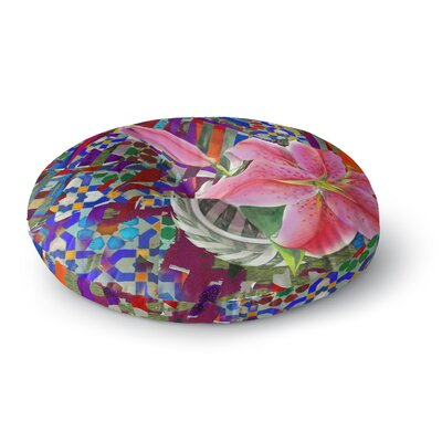 S Seema Z Lily Explosion Round Floor Pillow Size: 26 x 26