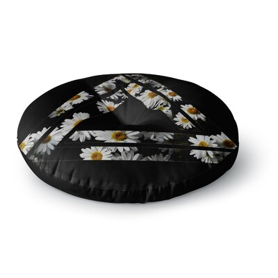 Alias Impossible Daisy Chain Round Floor Pillow Size: 26 x 26