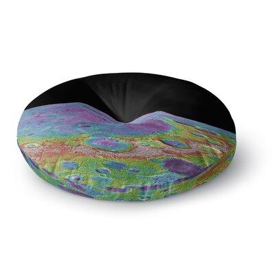 Alias Mercurys Closeup Abstract Round Floor Pillow Size: 26 x 26