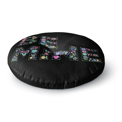 Noonday Design Be Mine Love Round Floor Pillow Size: 26 x 26