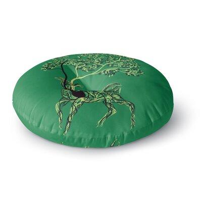 Tobe Fonseca Nectar Deer Round Floor Pillow Size: 23 x 23