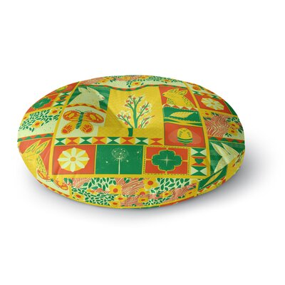 Tobe Fonseca Spring Seasonal Round Floor Pillow Size: 26 x 26