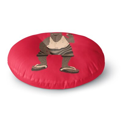 Tobe Fonseca Vacation Round Floor Pillow Size: 26 x 26