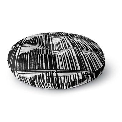 Trebam Celik Lines Round Floor Pillow Size: 23 x 23