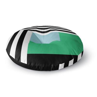 Trebam Kutovi Round Floor Pillow Size: 23 x 23
