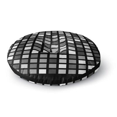 Trebam Plocica Grid Round Floor Pillow Size: 23 x 23