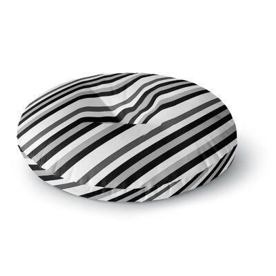 Trebam Kos Diagonal Round Floor Pillow Size: 26 x 26
