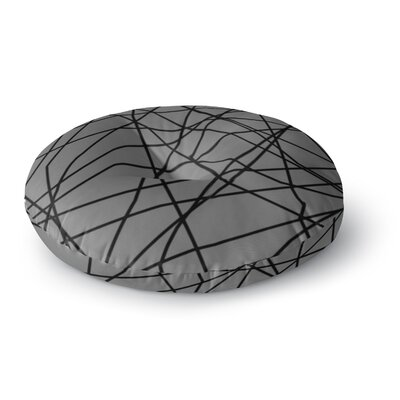 Trebam Paucina v2 Round Floor Pillow Size: 26 x 26