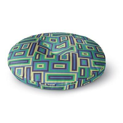 Trebam Jesen Round Floor Pillow Size: 26 x 26
