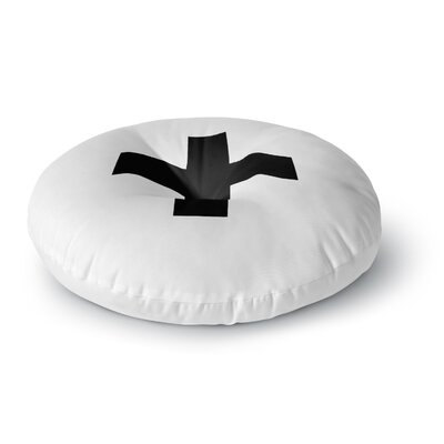 Trebam Plus V.2 Round Floor Pillow Size: 23 x 23