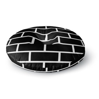 Trebam Opeke Digital Round Floor Pillow Size: 23 x 23