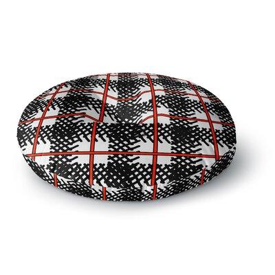 Trebam Kariran Round Floor Pillow Size: 26 x 26