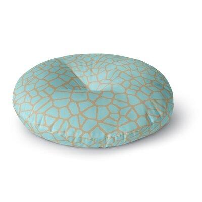Trebam Staklo III Round Floor Pillow Size: 23 x 23
